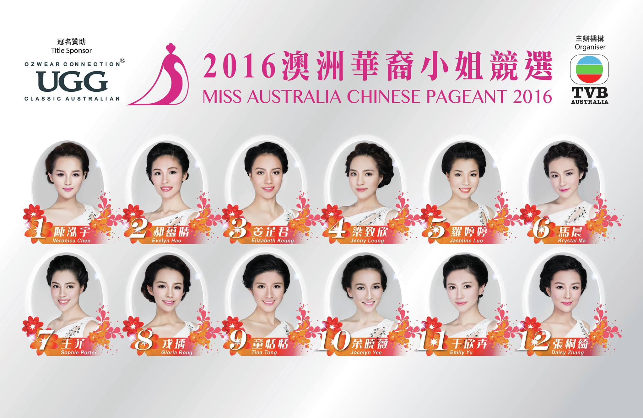 Miss Australia Chinese Pageant kicks off for 2016