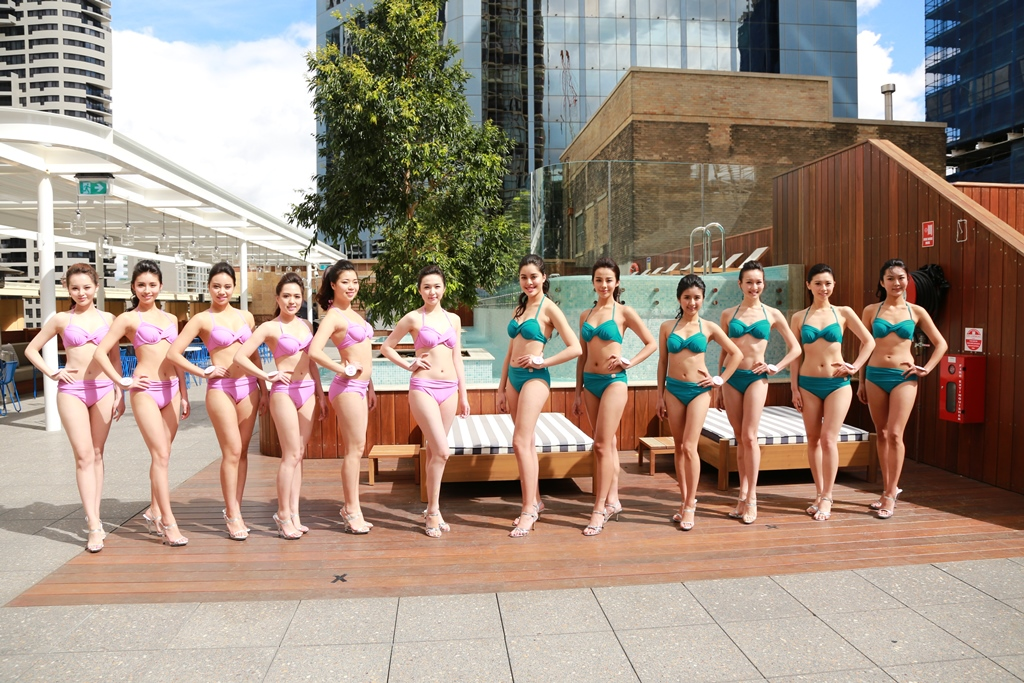 Miss Australia Chinese Pageant Poolside Meet & Greet off to a great start