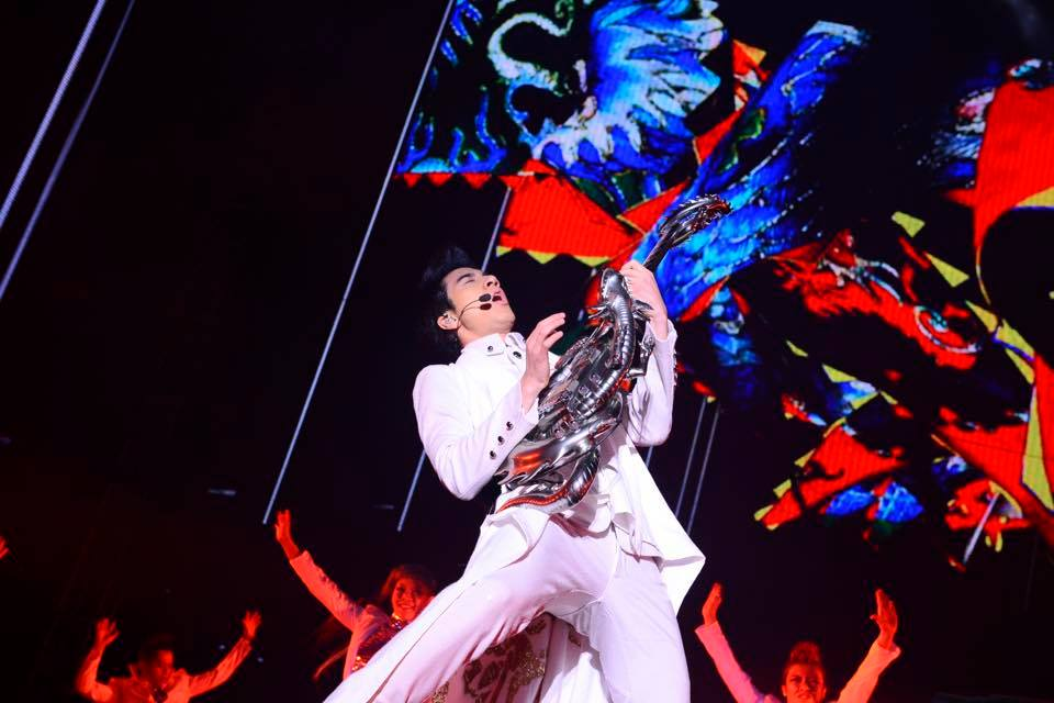 Leehom Wang's concert movie to premiere at the Toronto International Film Festival