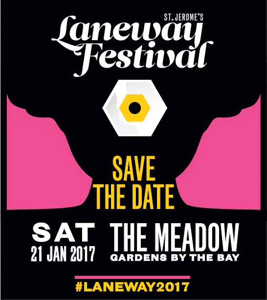Laneway 2017 Save The Date
