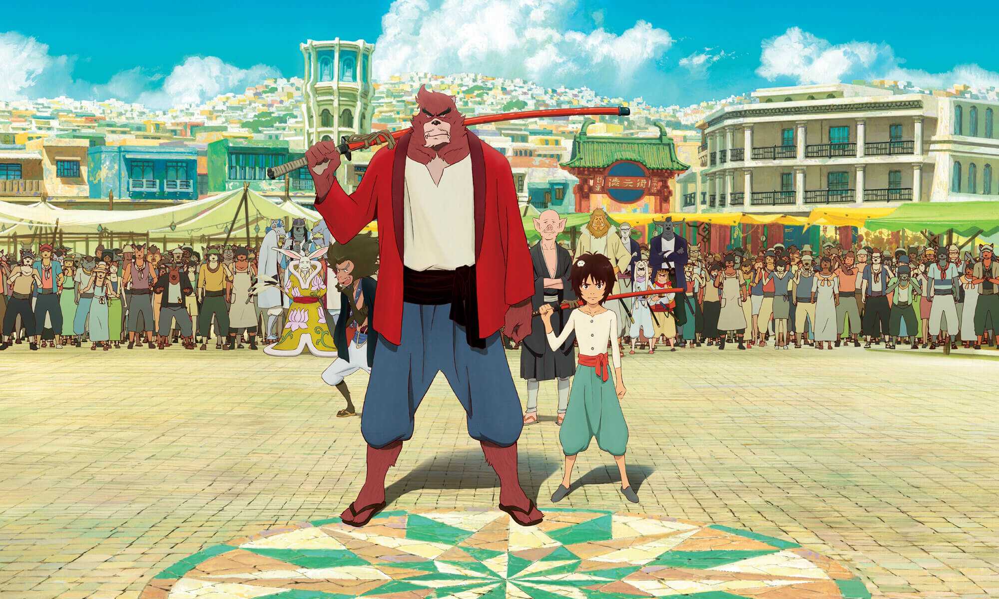 Film Review: The Boy And The Beast (Japan, 2016)