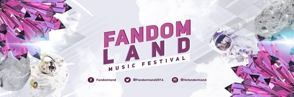 WIN double pass to FANDOMLAND 2016 Music Festival in Manila