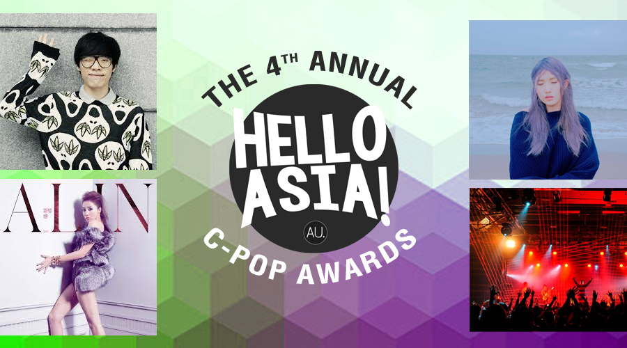 All the winners from 2016 Hello Asia C-Pop Awards