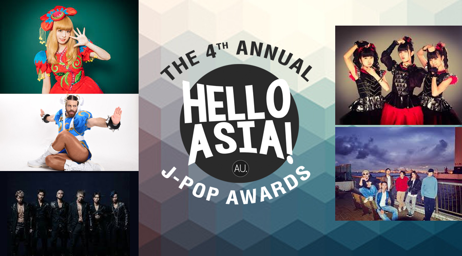 All the winners from 2016 Hello Asia J-Pop Awards