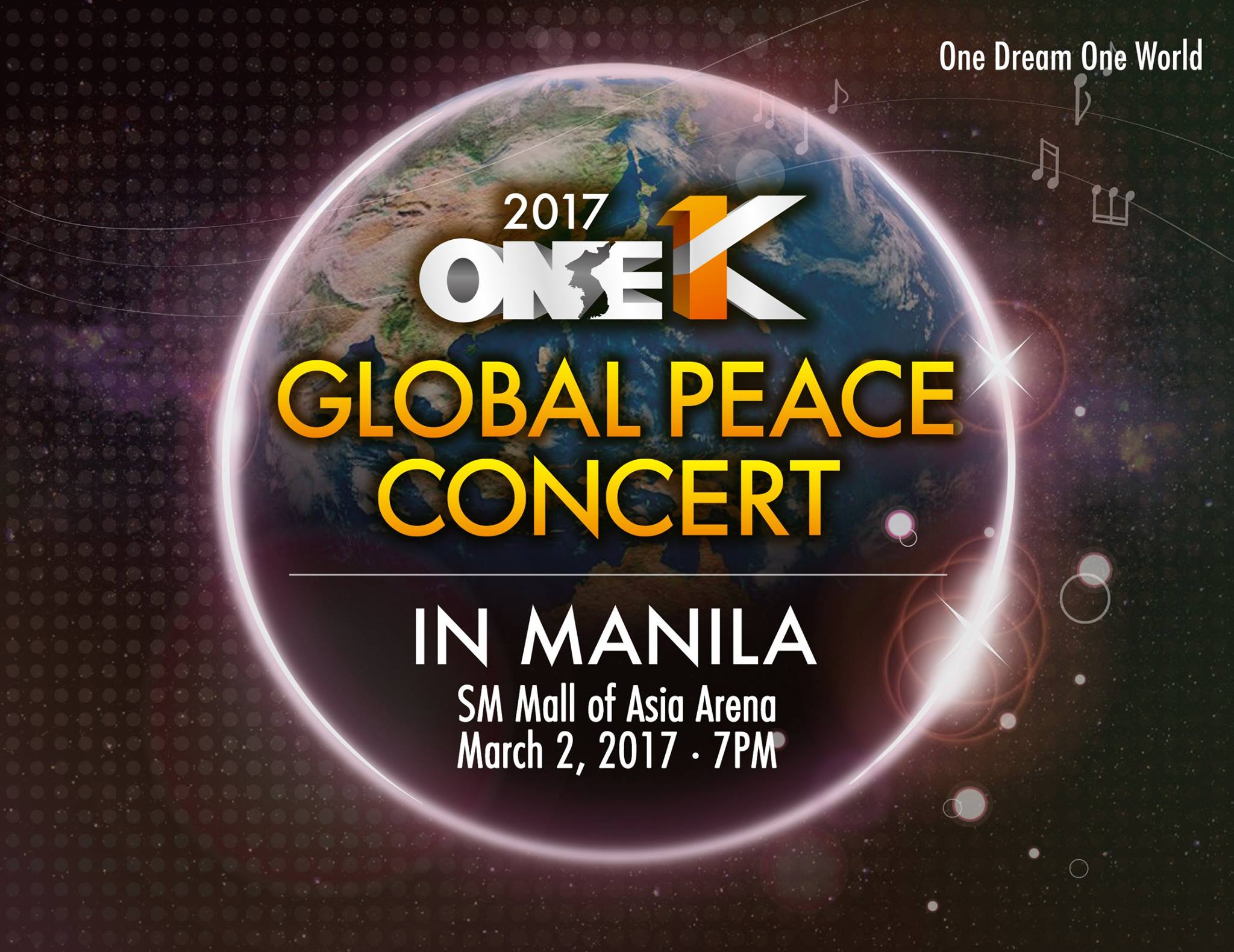 2017 One K Global Peace Concert in Manila