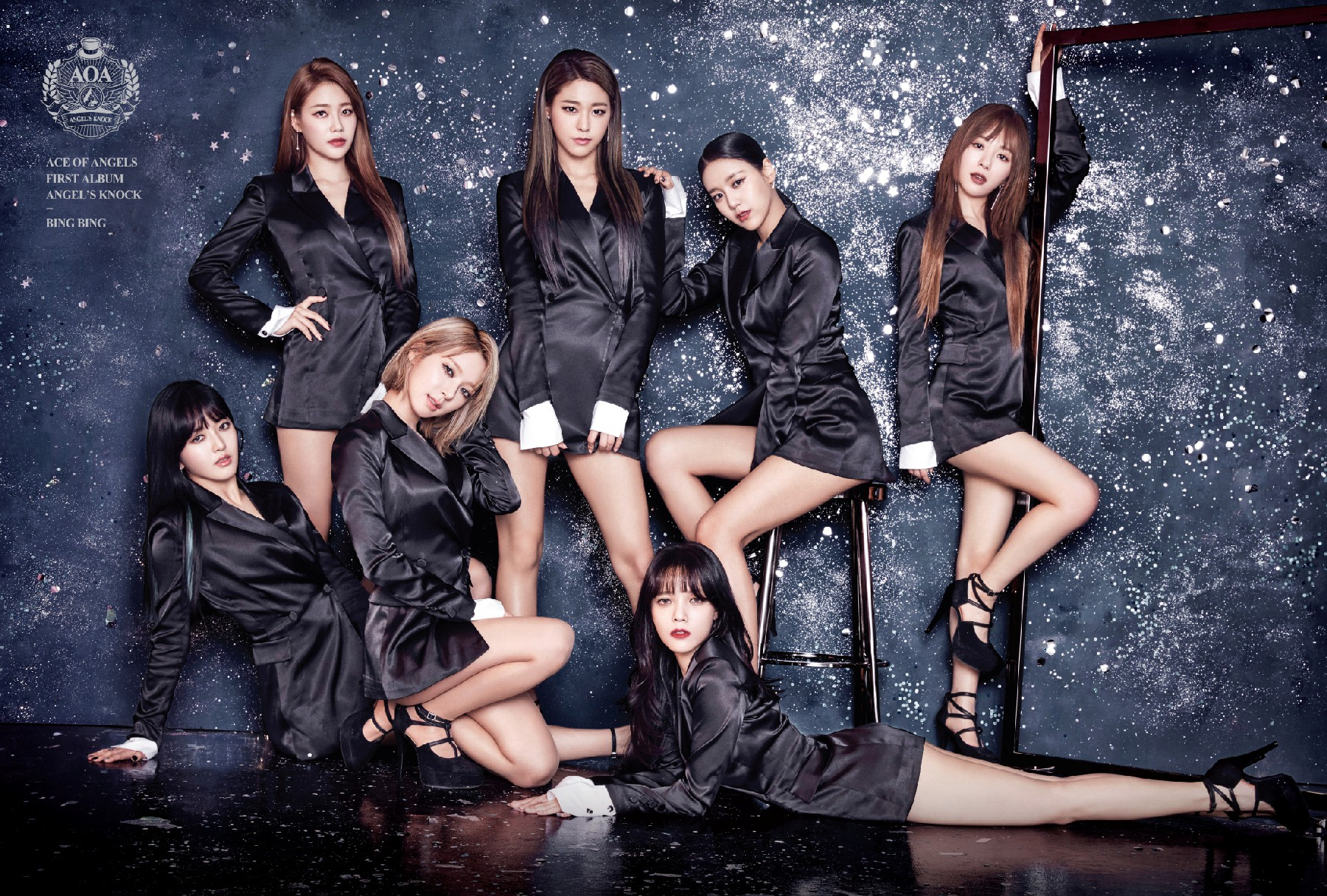 AOA makes a New Year Comeback with 2 Brand New MVs