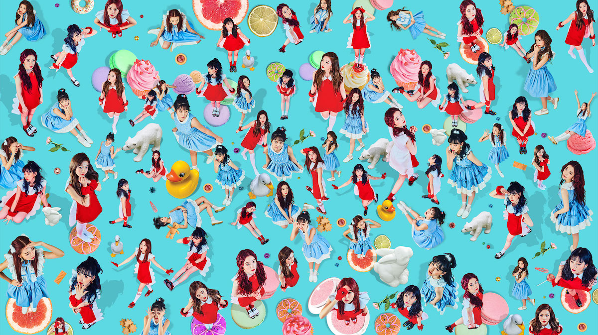 "Red Velvet reveal new comeback ""Rookie"" with cute interactive website"
