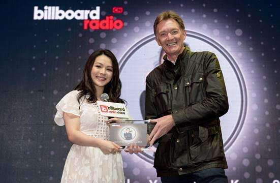 Billboard Radio China presents its awards for 2016
