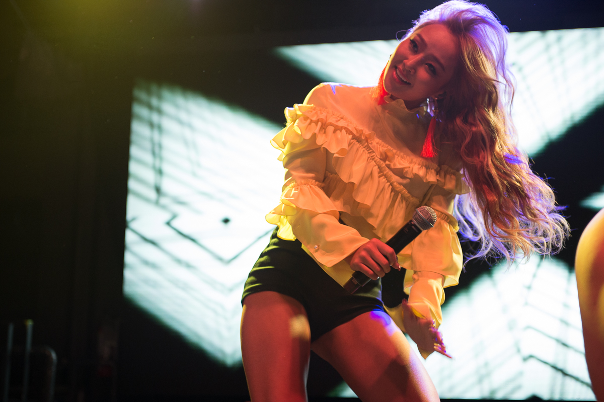 SXSW Photo Gallery: K-pop Night Out w/ Hyolyn – The Belmont (17.03.17)