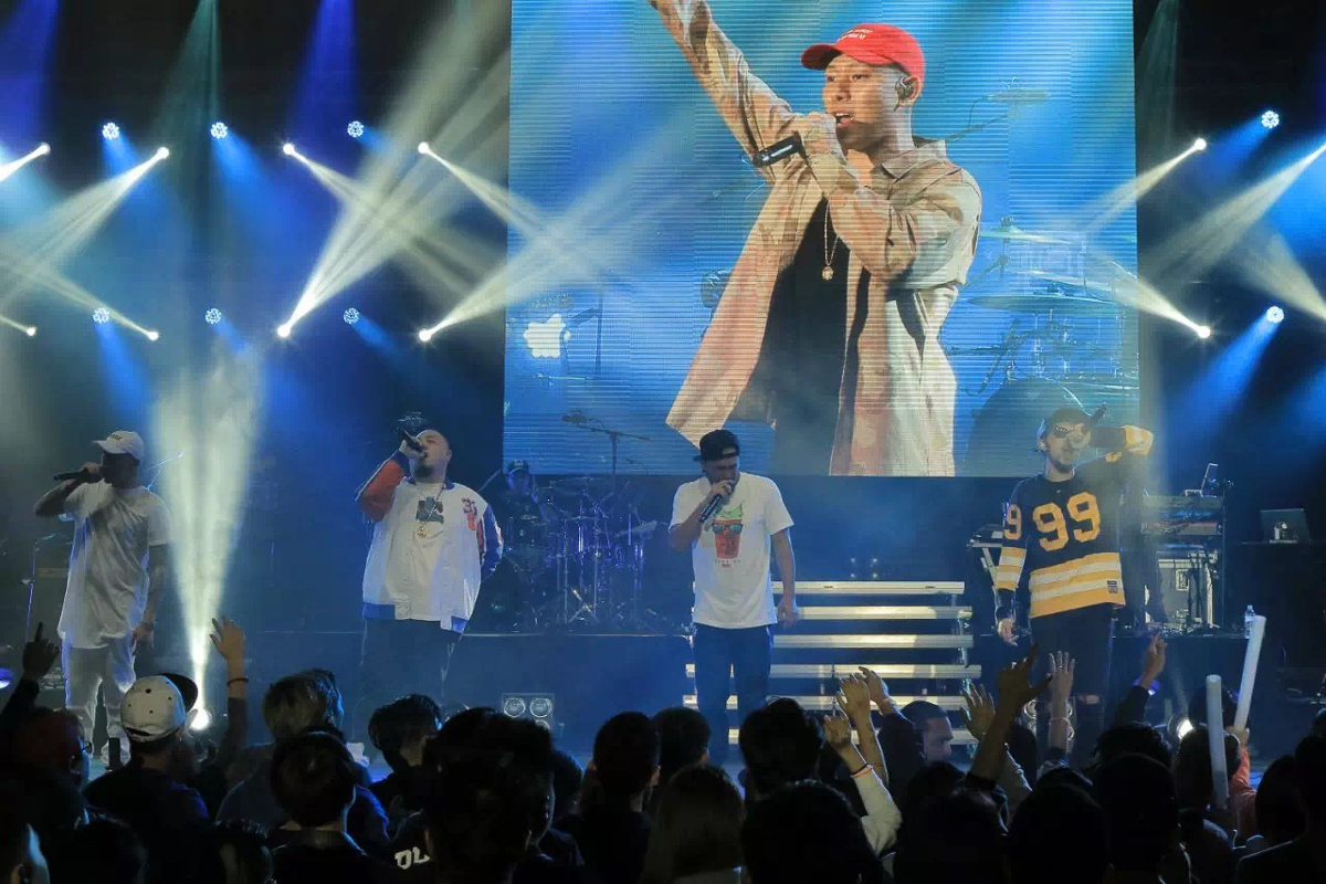 Chinese Hip Hop Supergroup GUTS Performed For The Very First Time In Sydney Last Wednesday Night Comprising Of Taiwanese Legends MC Hot Dog