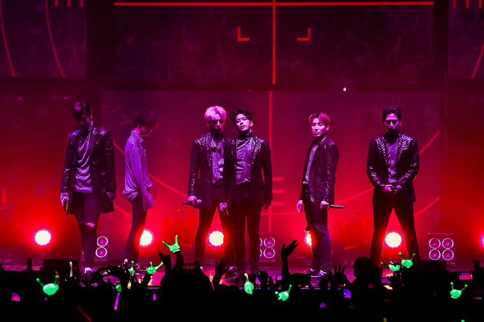 B.A.P start their European tour off with a bang