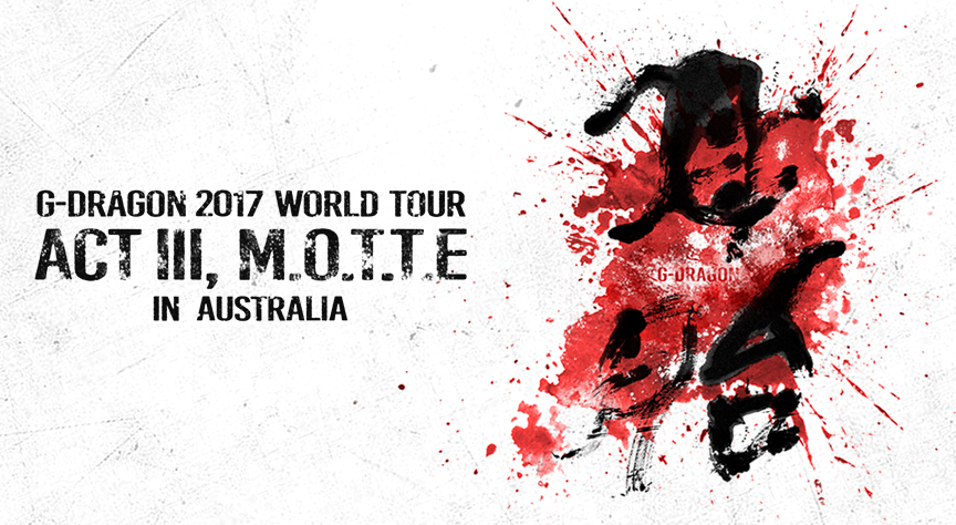 G-Dragon Is Coming To Melbourne: Here's Everything You Need To Know