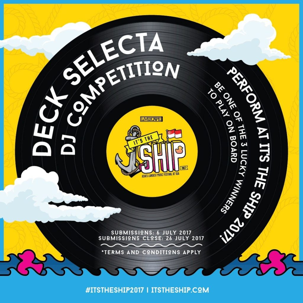 Last Days To Enter The It S The Ship International Deck
