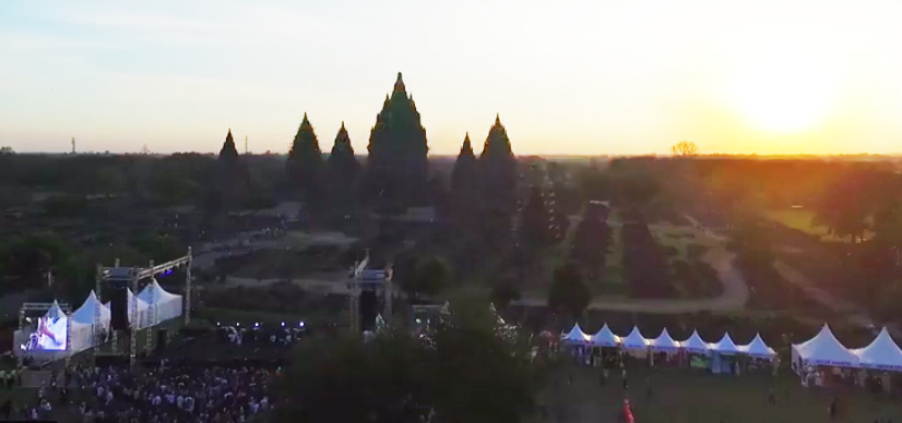 All the details you need for the Prambanan Jazz Festival 2017 in Yogyakarta, Indonesia