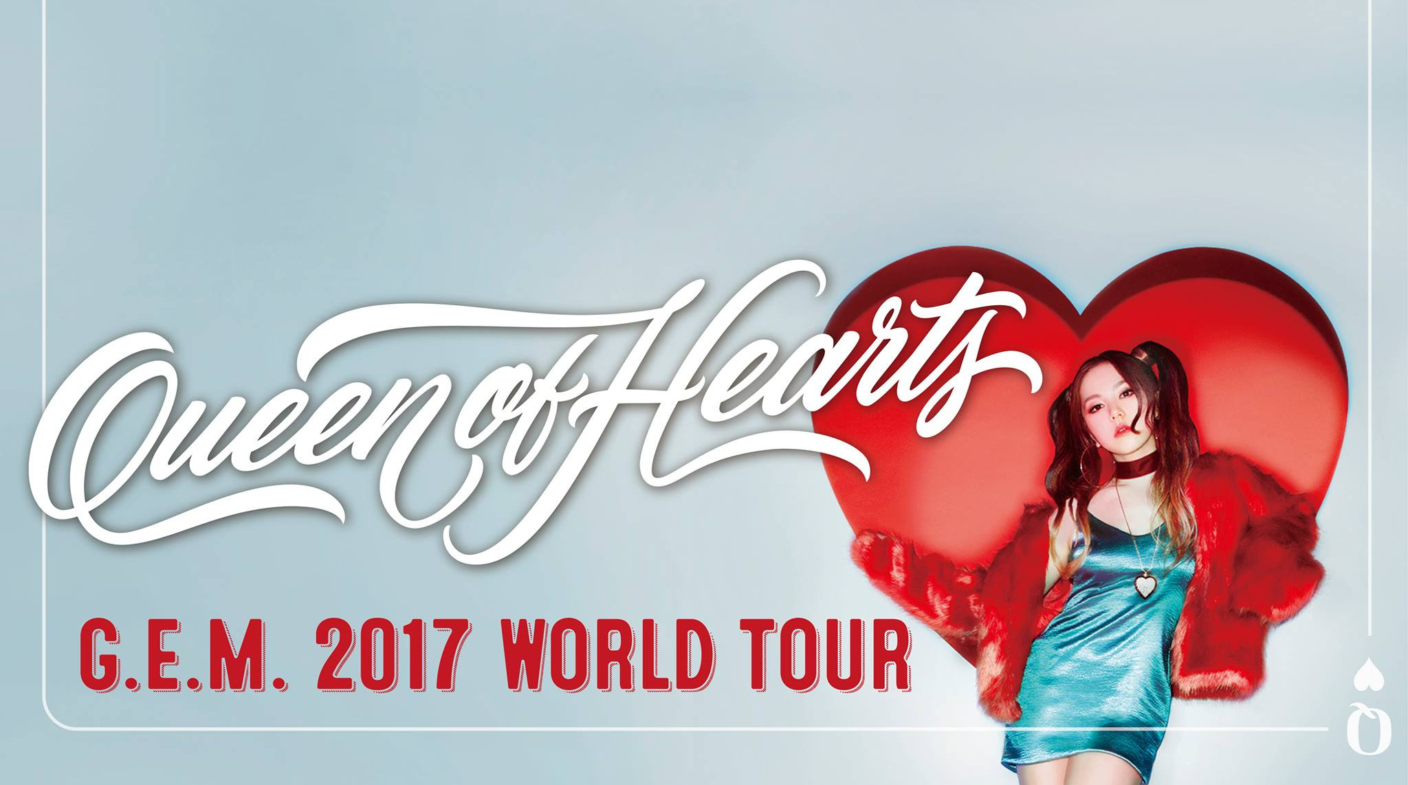 G.E.M. Tang announces Australian concert dates for 'Queen of Hearts' World Tour