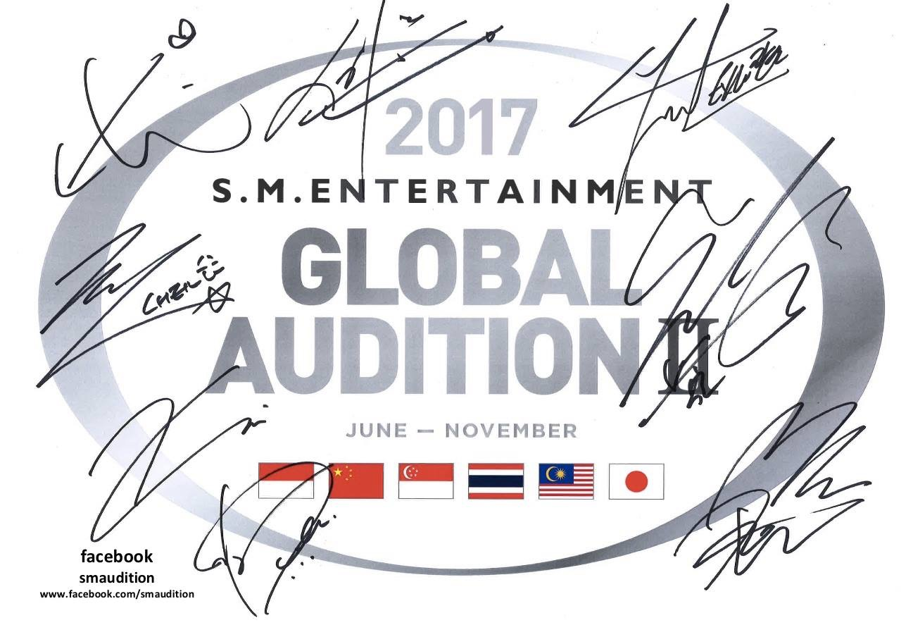 S.M. Entertainment To Hold Global Audition In Singapore This August