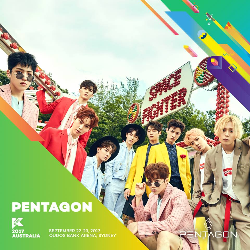 Hello Asia's KCON Kcountdown Introductions: PENTAGON