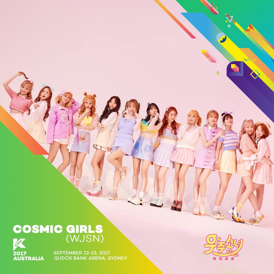 Hello Asia's KCON Kcountdown Introductions: COSMIC GIRLS (WJSN)