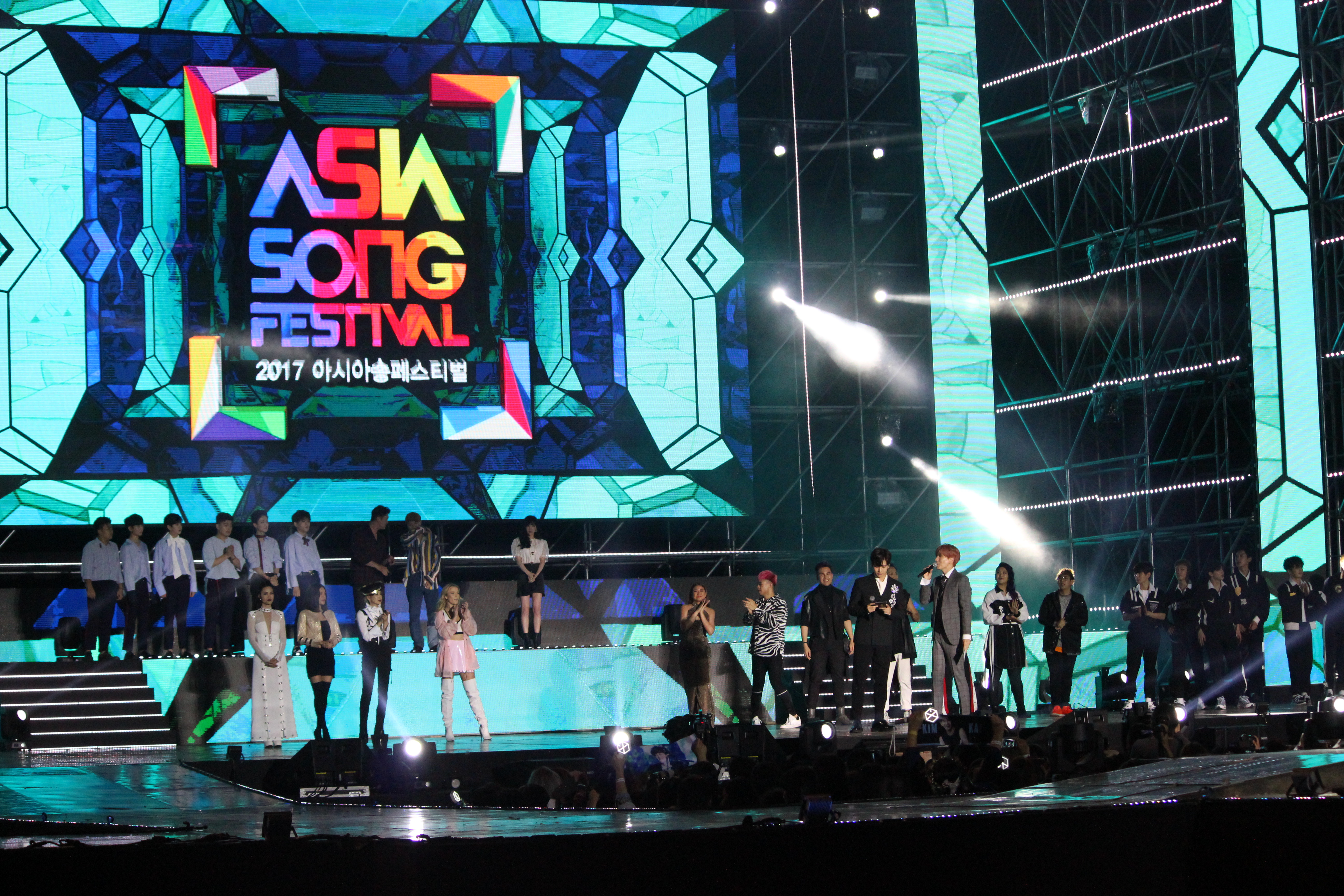 Photo Gallery: Asia Song Festival – Asiad Main Stadium, Busan (24.09.17)