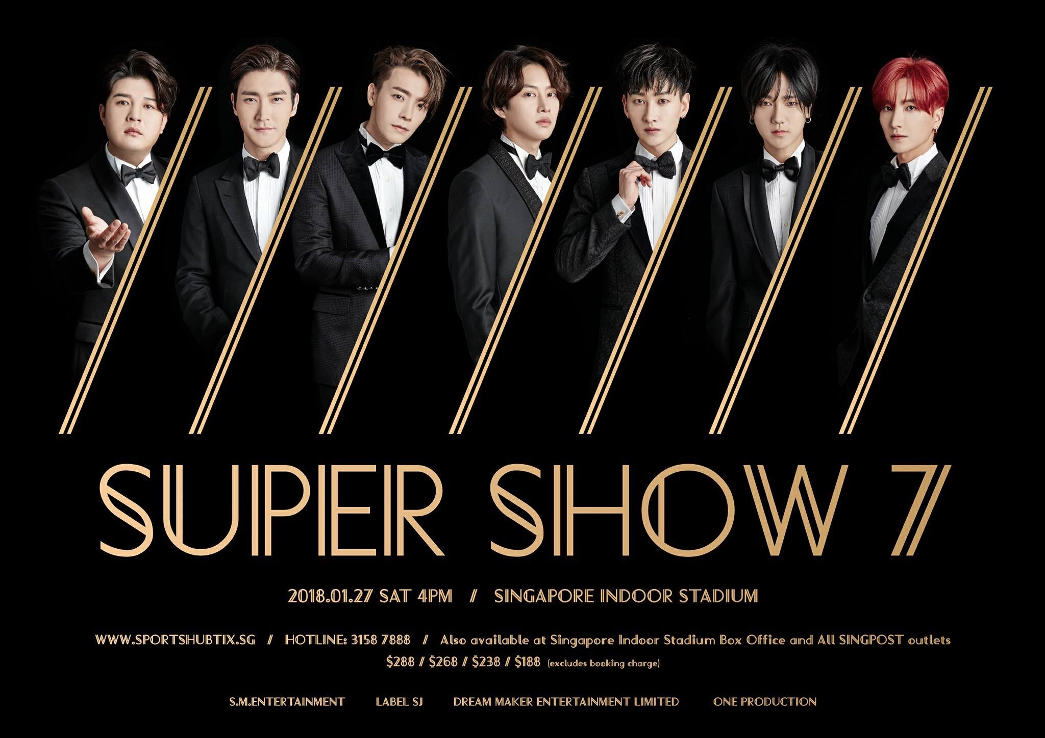 Super Junior To Hold Super Show 7 In Singapore This January