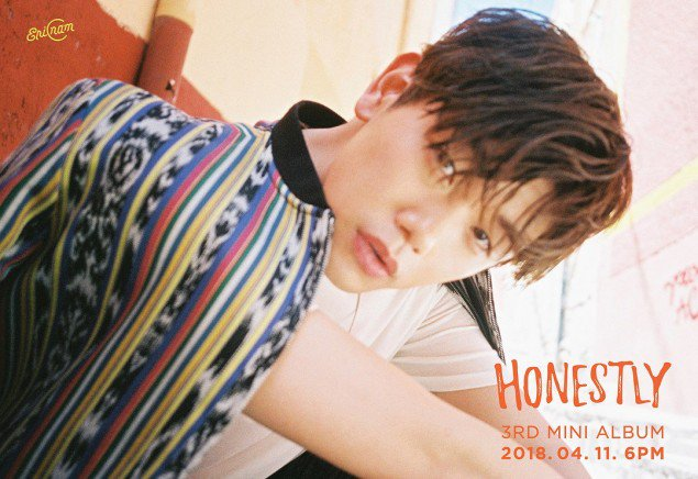 "Watch: Eric Nam drops new music video ""Honestly"" & releases mini album"