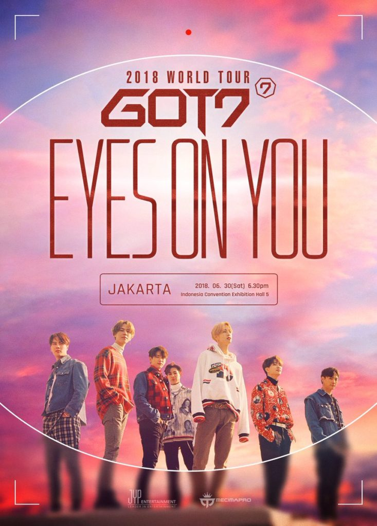 got7 announce massive eyes on you world tour with dates in jakarta singapore and more hello asia. Black Bedroom Furniture Sets. Home Design Ideas