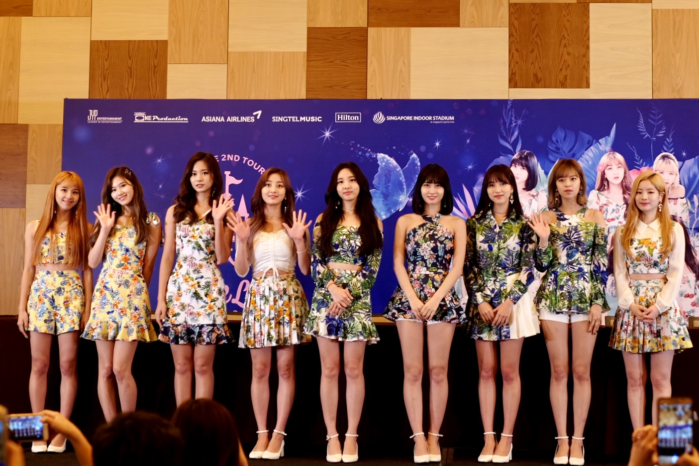 TWICELAND Zone 2: Fantasy Park In Singapore Press Conference