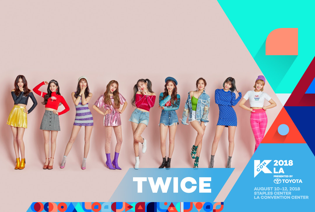 KCON LA 2018 adds TWICE, NU'EST W, IN2IT and DAVICHI to lineup!