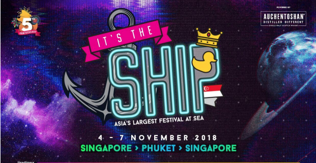 Taiwan DJs KAKU & RayRay added to final IT'S THE SHIP Singapore 2018 lineup with Deck Selecta Winners