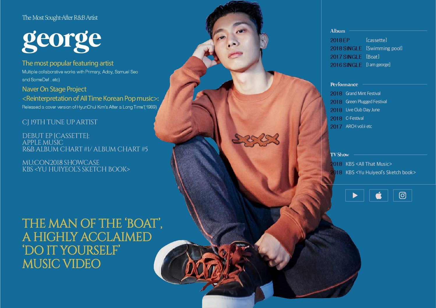 Artist Introduction: Get to know South Korean R&B artist george