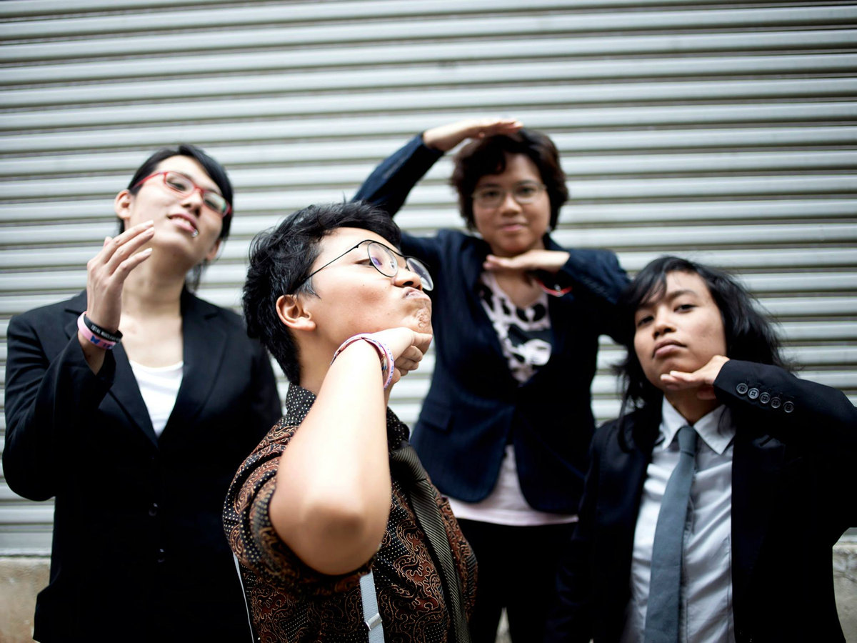 Malaysian LGBT band, Shh… Diam!, uses music to to fight discrimination