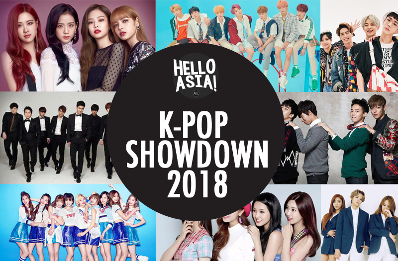 Hello Asia! readers to vote for the best K-Pop Act of All Time in the K-Pop Showdown
