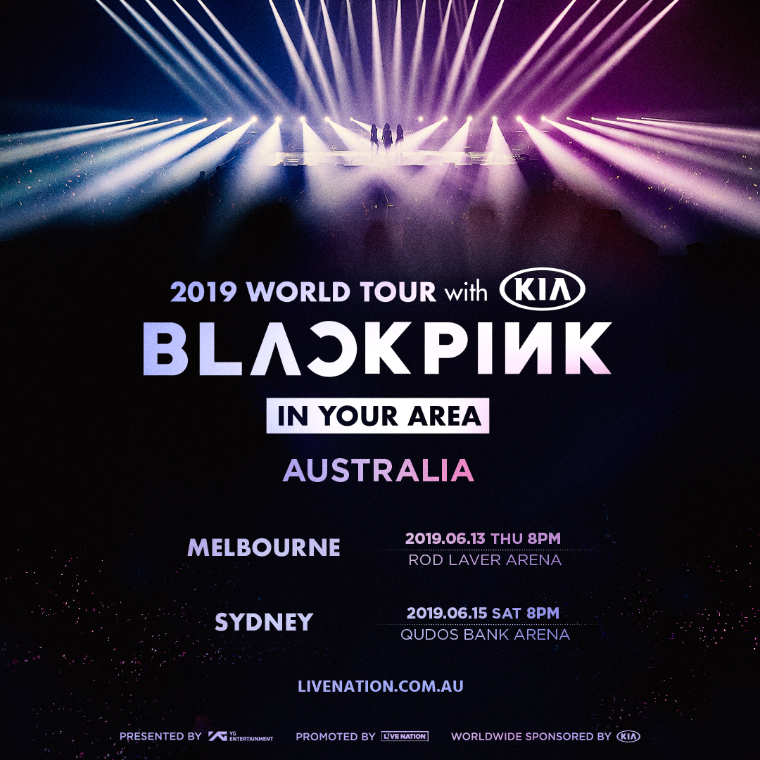 BLACKPINK is Coming to Australia in June!