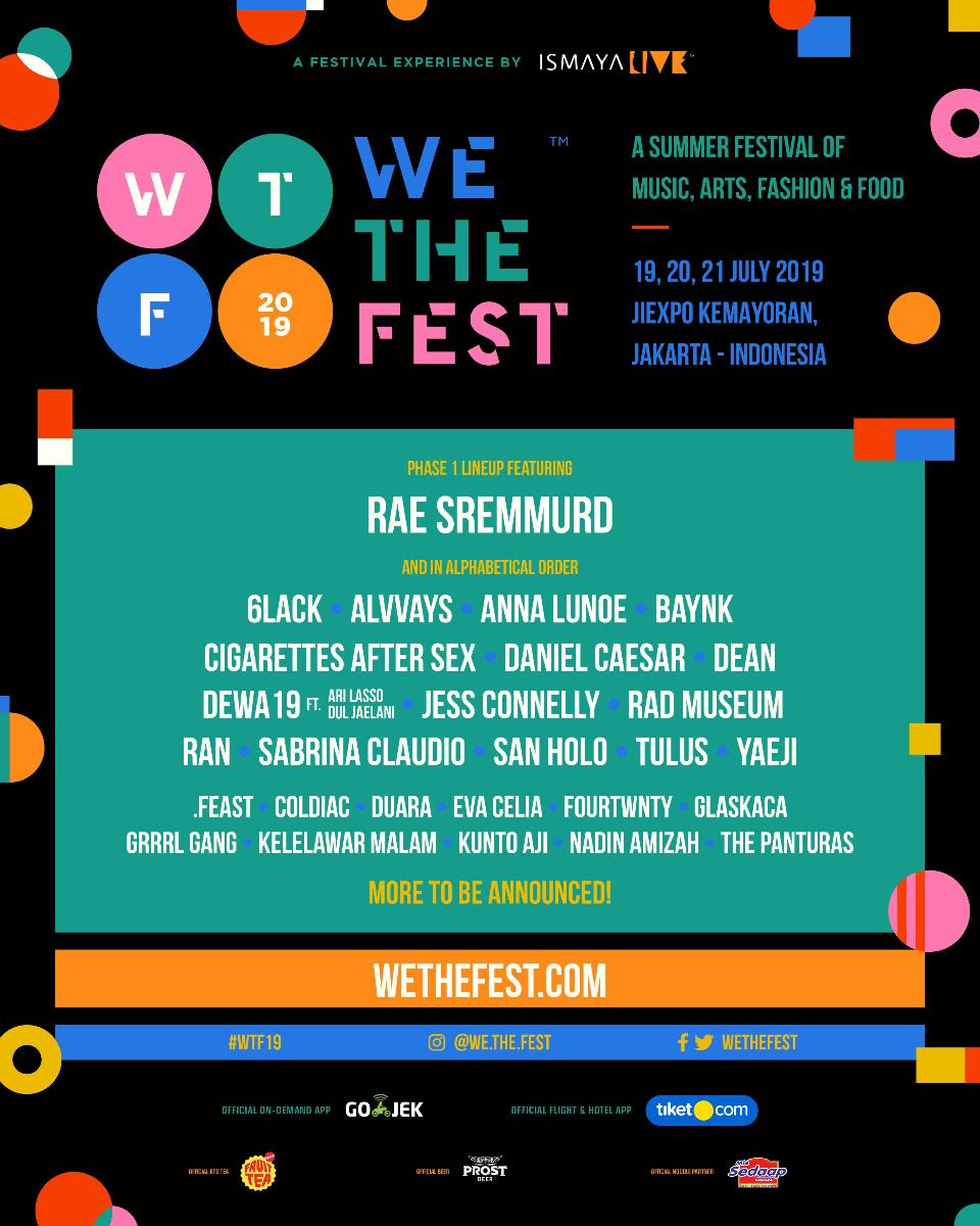 We The Fest Drops Star-Studded And Diverse Phase 1 Lineup