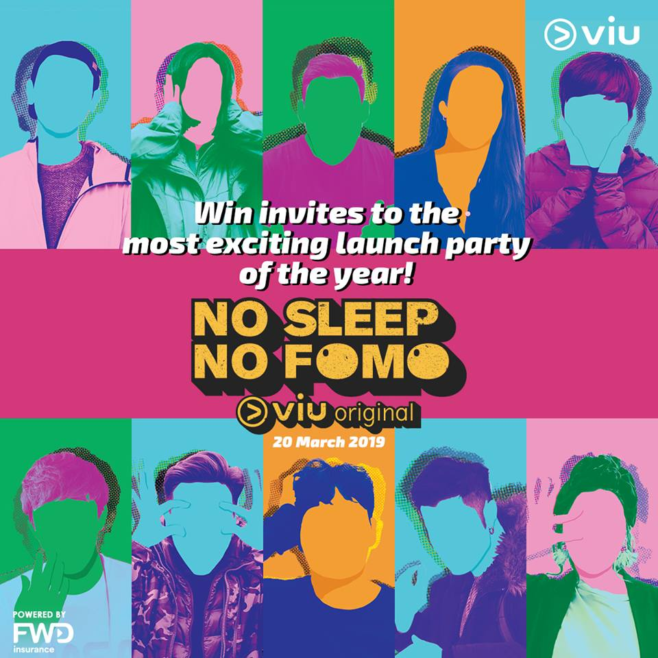 Join VIU's No Sleep No FOMO Launch Party in Singapore