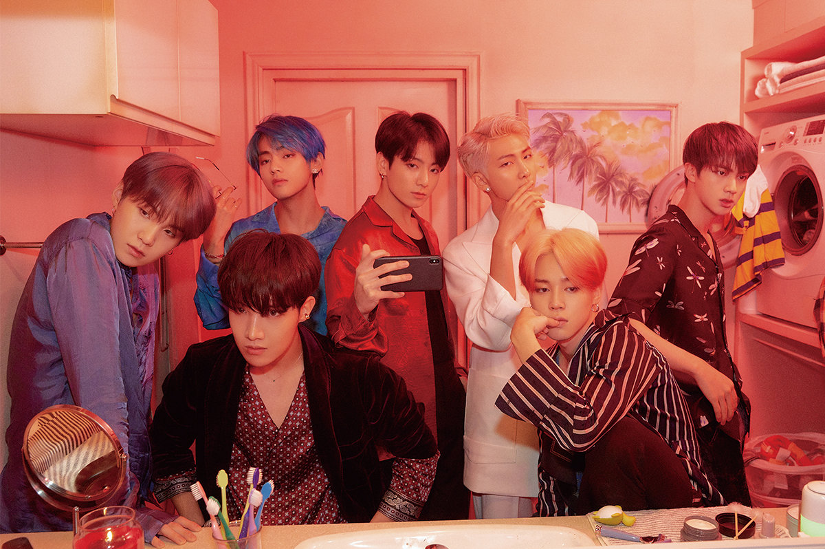 BTS Debut at #1 on Official ARIA Albums Chart!