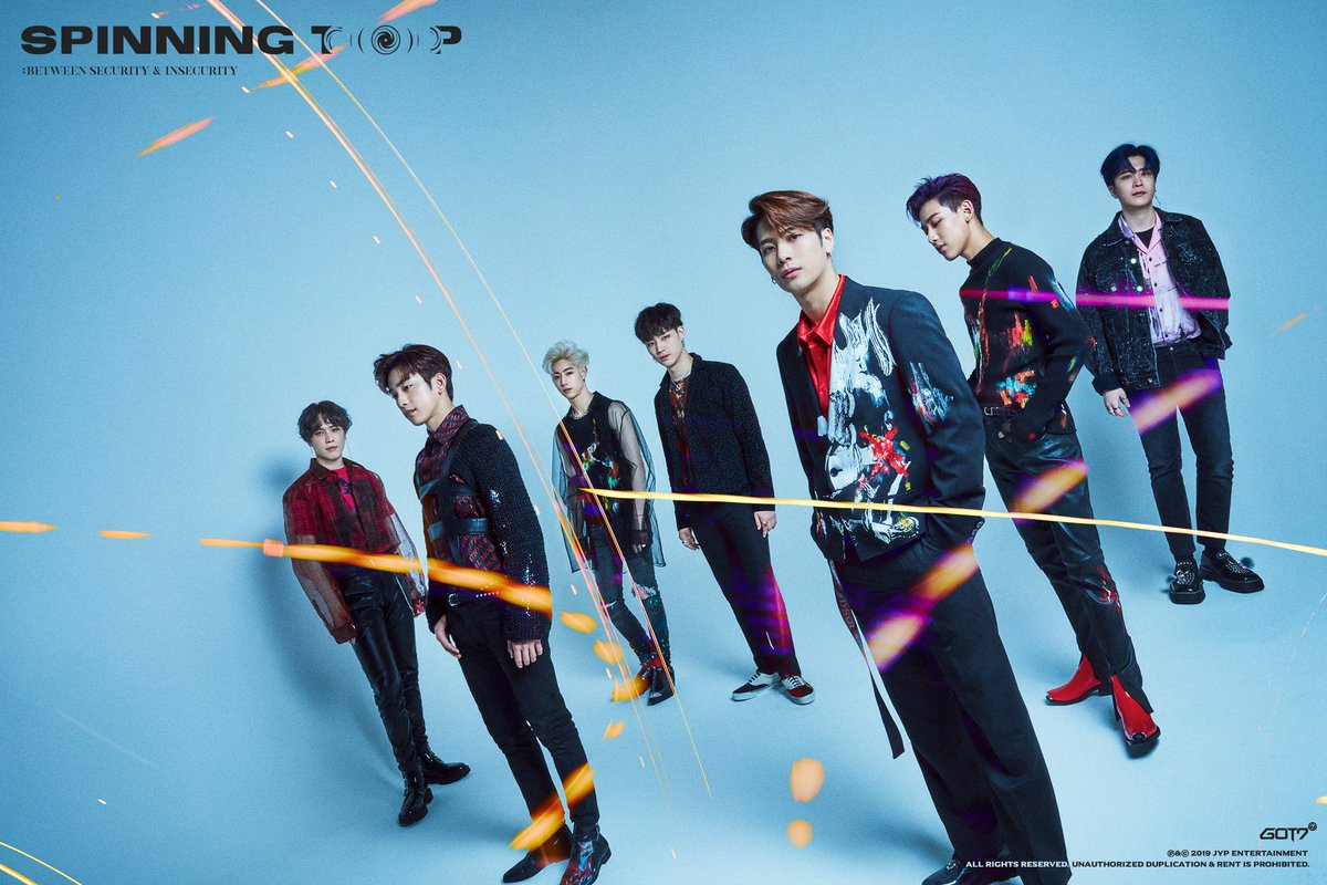 GOT7 'KEEP SPINNING' as Tickets for Australian World Tour Dates Go On Sale!