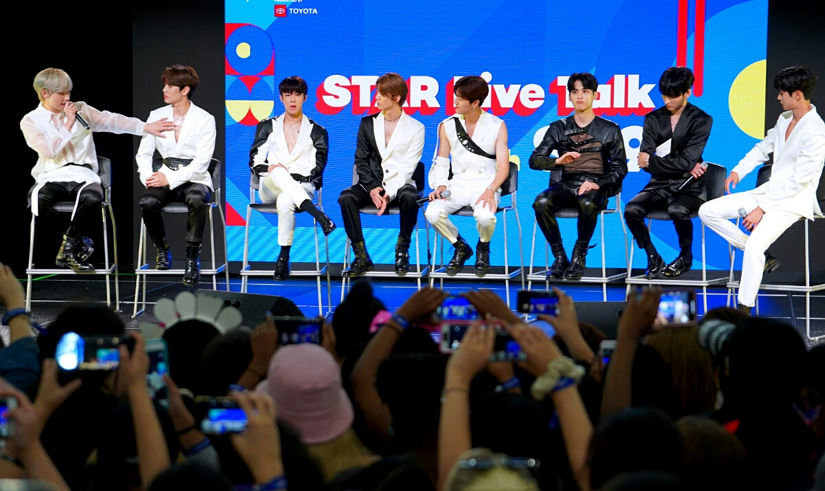Photo Gallery: SF9 Sizzles On The KCON NY Stage For Star Live Talk