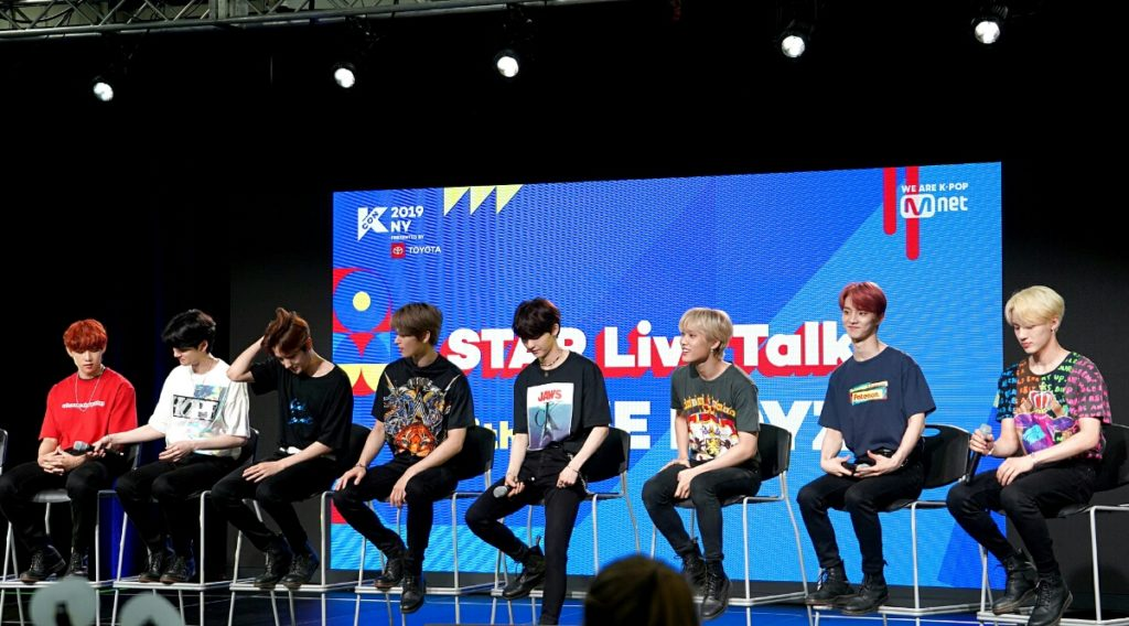 The Boyz at the KCON Stage for STAR Live Talk at KCON NY #THEBOYZ #더보이즈 #KCON19NY https://www.helloasia.com.au/