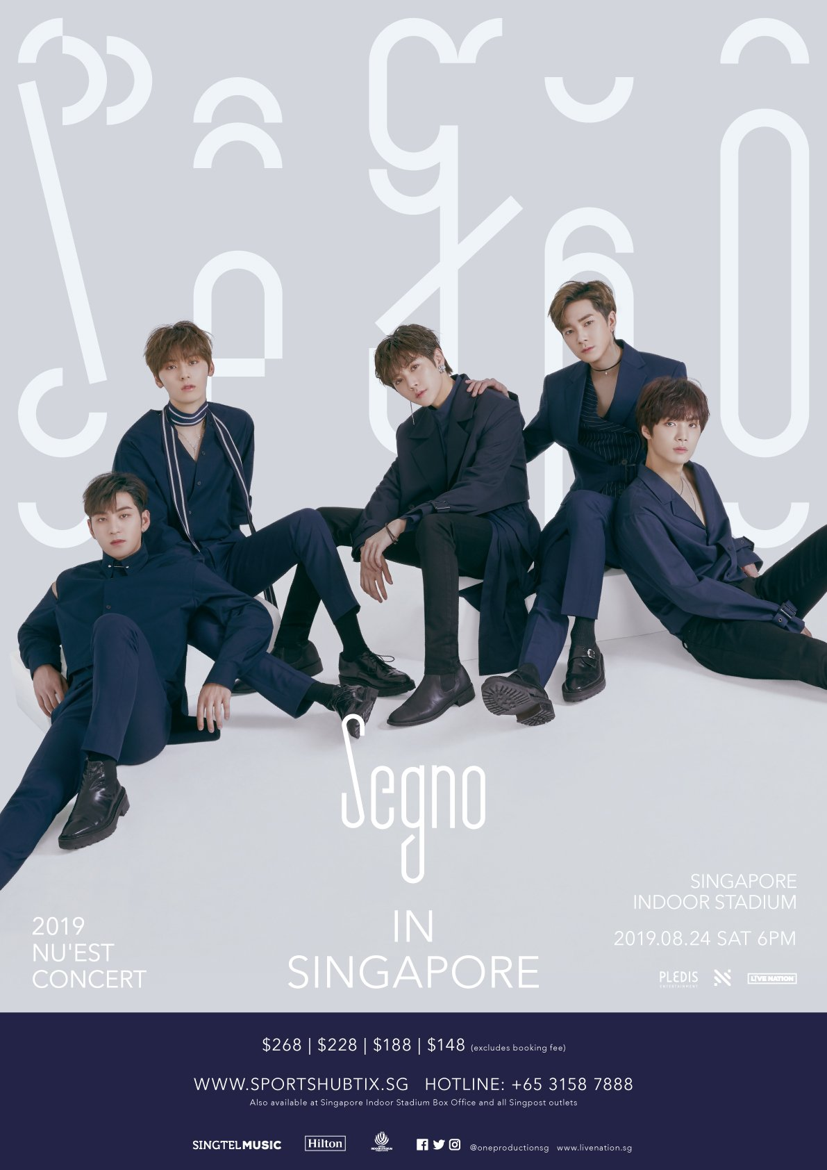 NU'EST Announces Upcoming Segno Tour in Singapore