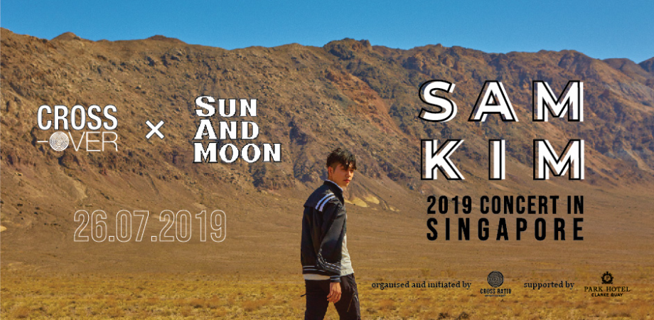 Catch Sam Kim at 'Sun And Moon' Concert in Singapore this July