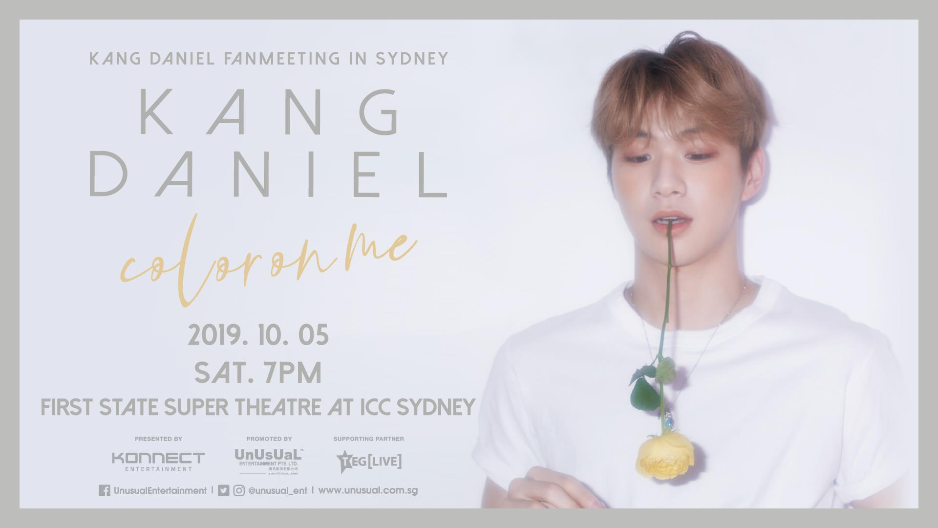 Kang Daniel's 'Color On Me' Fan Meeting Cancelled