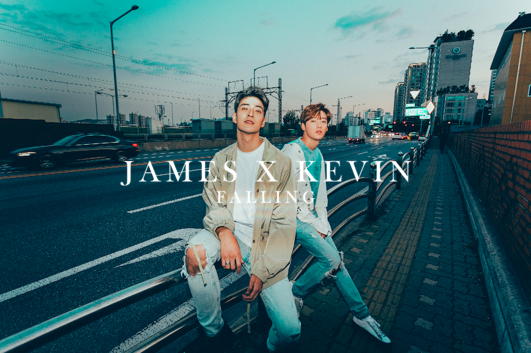 James Lee x Kevin Woo Are 'Falling' In Brand New Music Video Collaboration