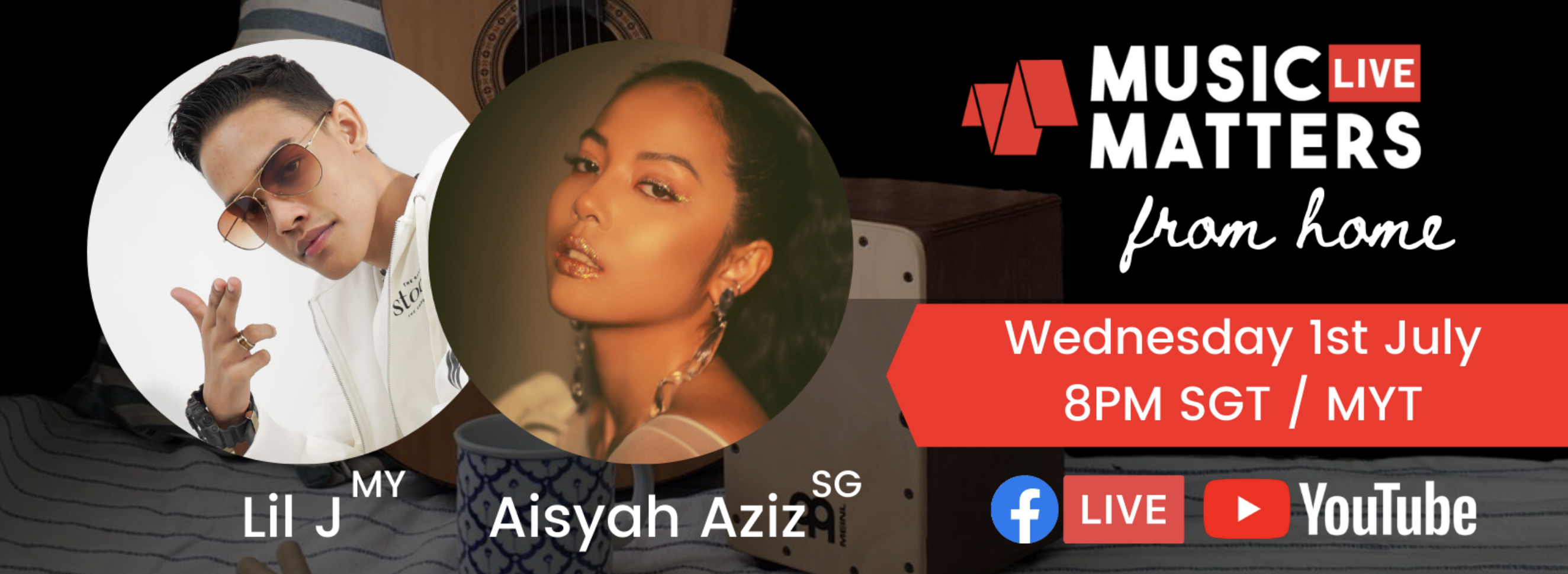 Music Matters Live To Feature Malaysia's Lil J and Singapore's Aisyah Aziz