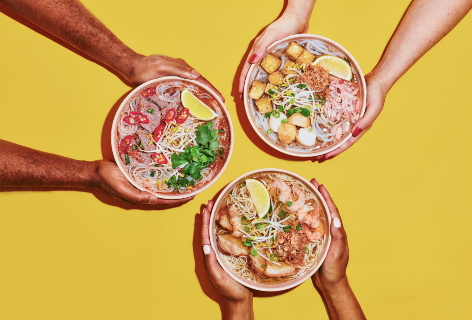 Roll'd Are Sharing Three Traditional Vietnamese Soups Based on Their Own Family Recipes