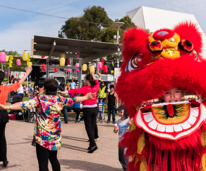 Music and Art Herald Chinese New Year Festivities at Adelaide Festival Centre