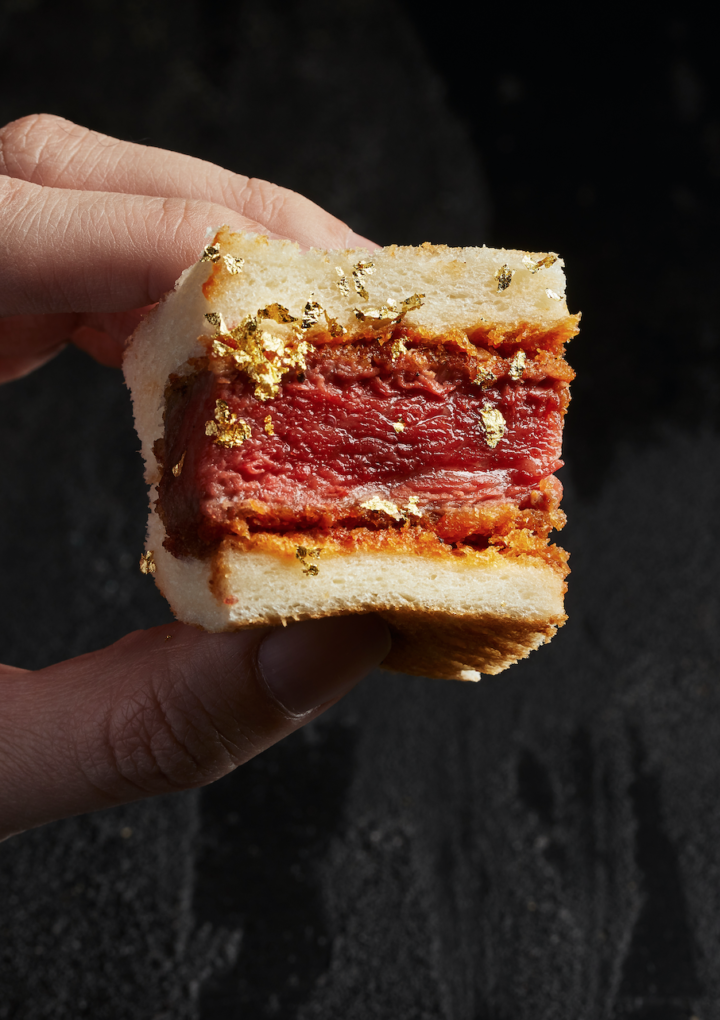 A $228 Gold-Flaked Steak Sandwich Is Now Available At Melbourne's Niku Ou!