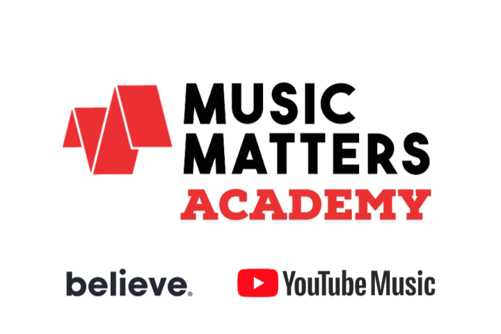 Branded, In Partnership with Believe and YouTube, Launches The Music Matters Academy  – A New Online Platform For Young Musicians and Industry Professionals